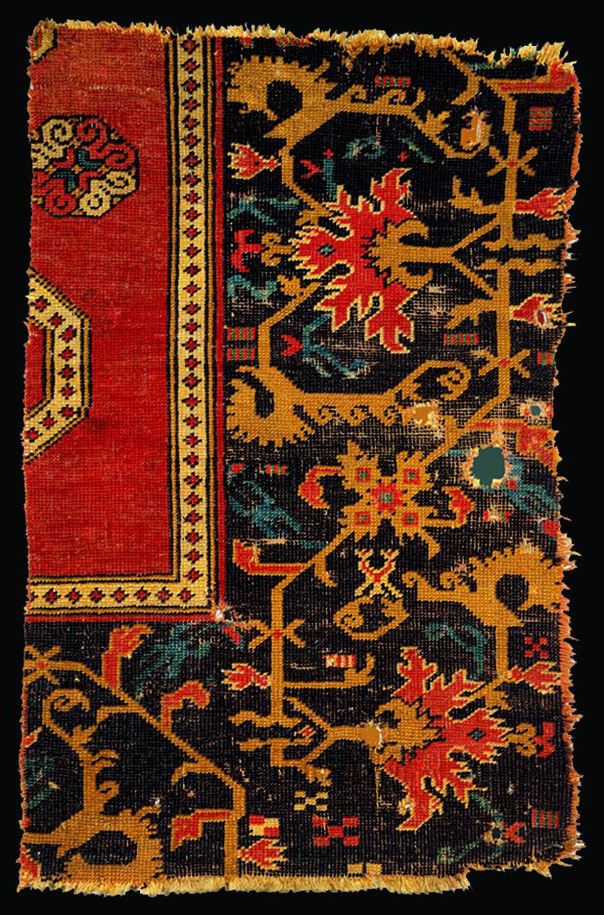Saschiz / Keisd Bellini rug fragment