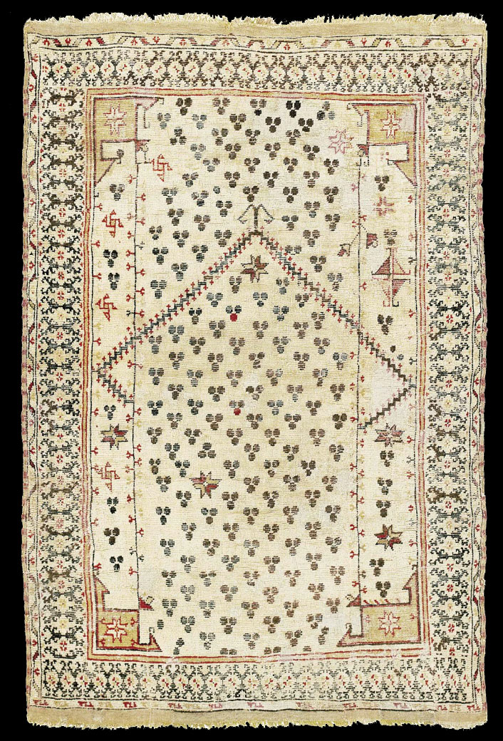 This Rug Was Sampled On 15 March 1995 By Dr Georges Bonani Of Eth Zurich Sample No 14055 The C14 Results Indicated A Calibrated Age 1455 1647 With