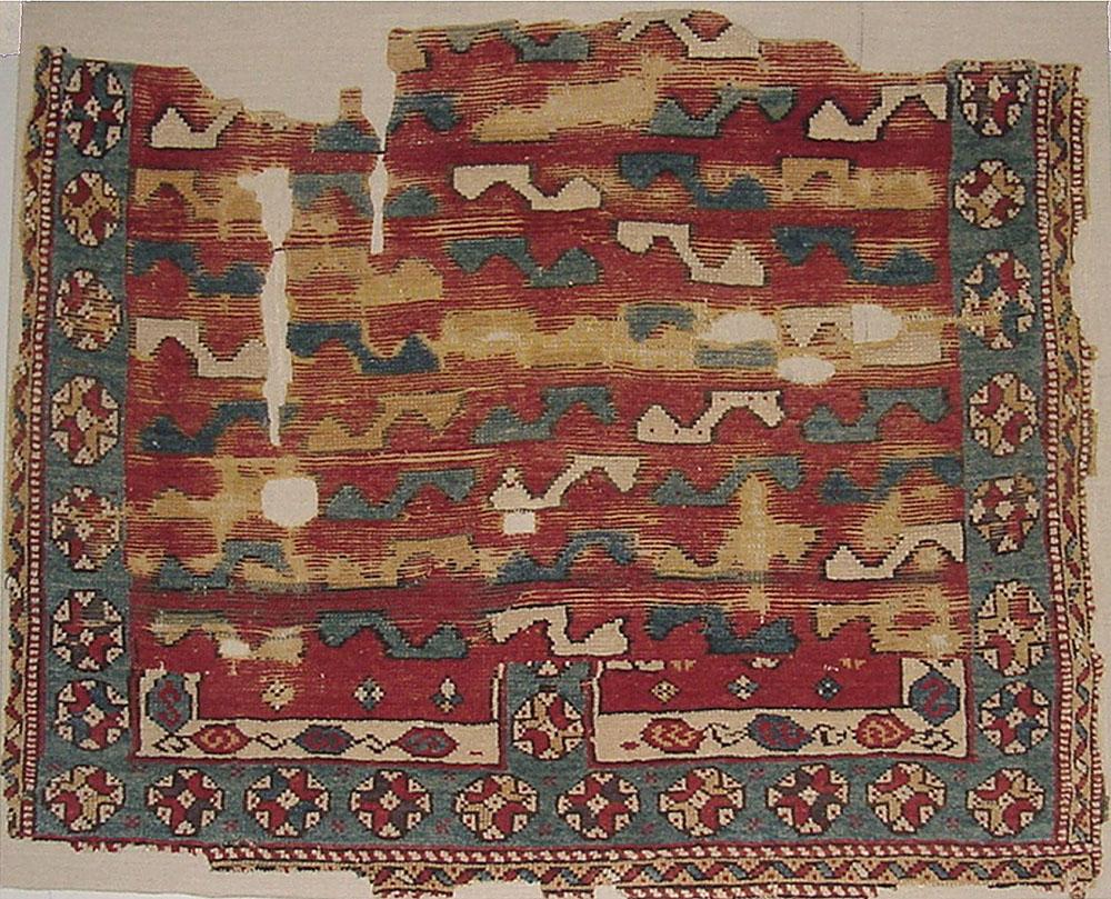 Marc Feldman Anatolian rug fragment