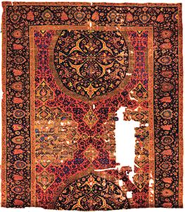 Ushak Medallion Carpet Fragment Turkey 16th Century Vakiflar Museum Istanbul Inventory No 224 Found At The Suleymaniye Mosque