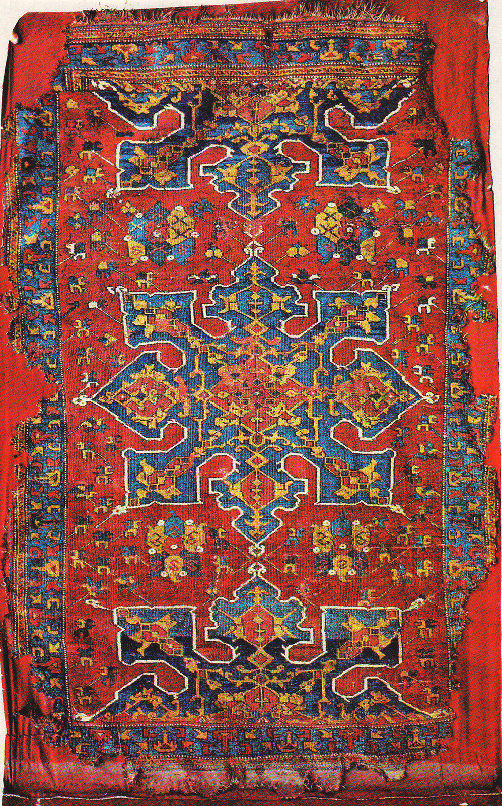 Star Ushak Rug Xvii 17 Century Turkey Ottoman Empire