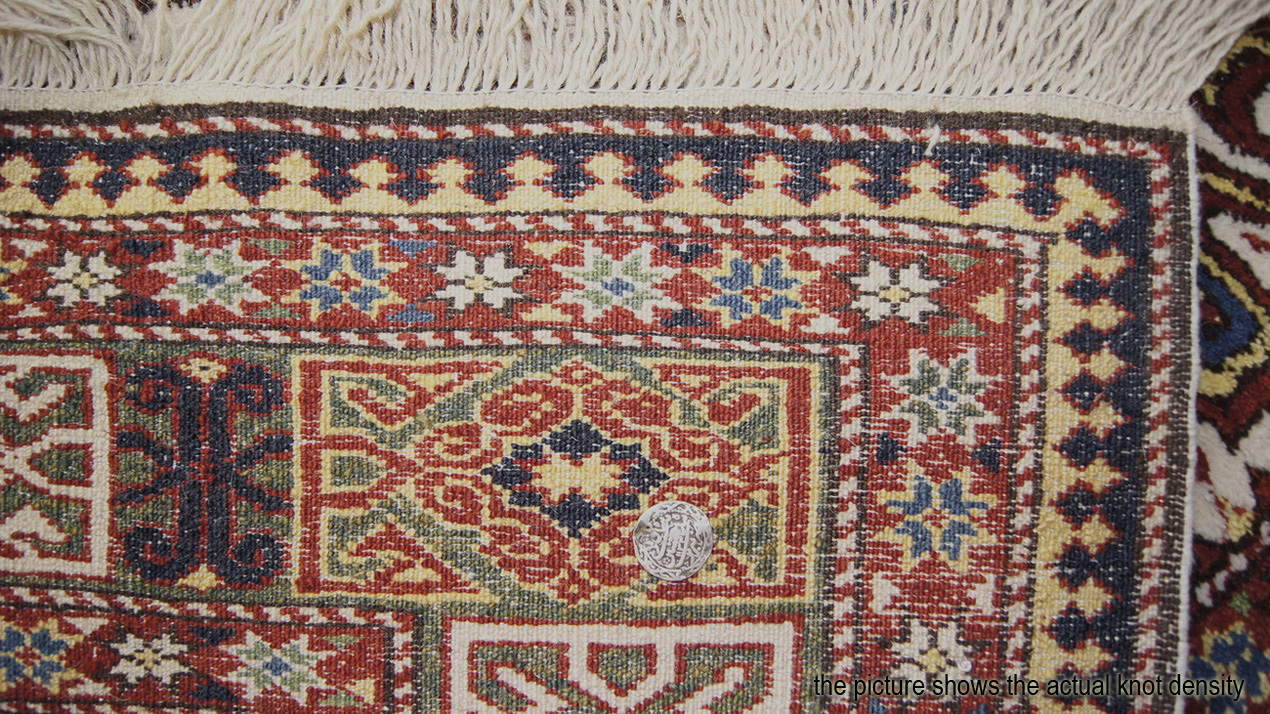 Perepedil Kuba Rug In An Ivory Ground