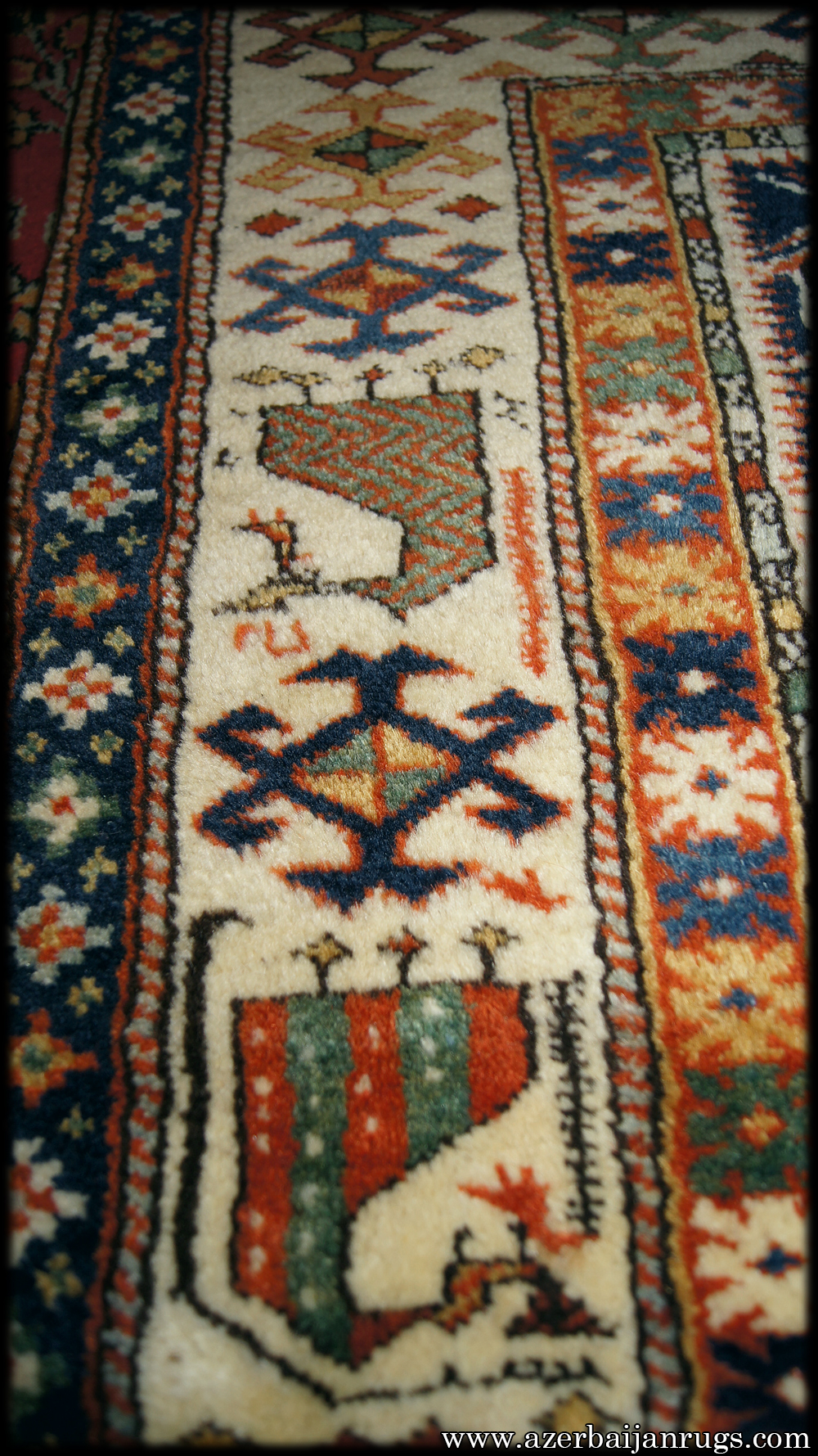 Marasali Prayer Rug Shirvan Prayer Rug