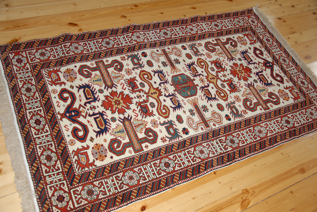 Kuba Perepedil Rug In An Ivory Ground Quba Pirəbədil Xal 231 Ası