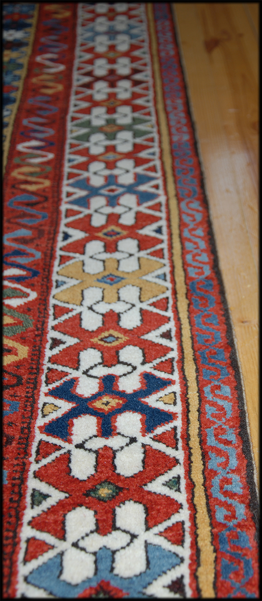 Kuba Rug With Star Medallions