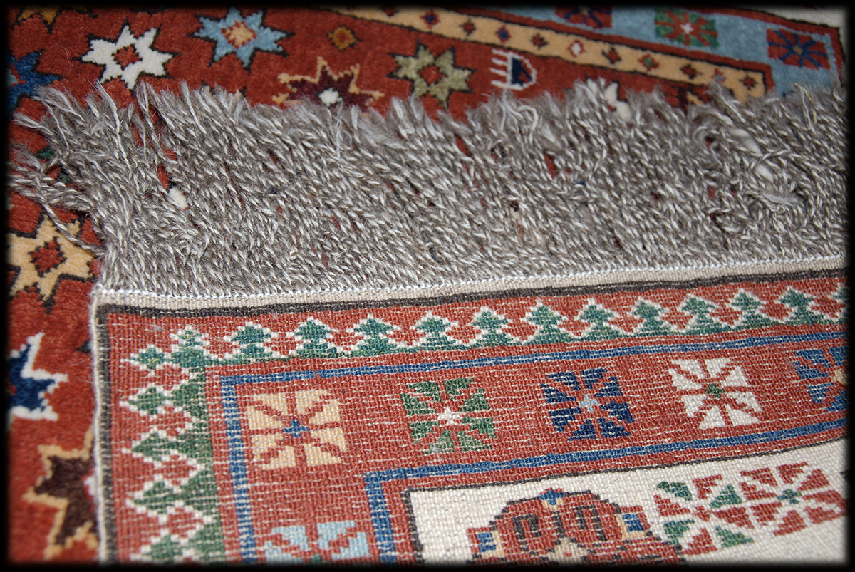 Ulduzlu Muğan Xal 231 Ası Moghan Rug With Star Motives