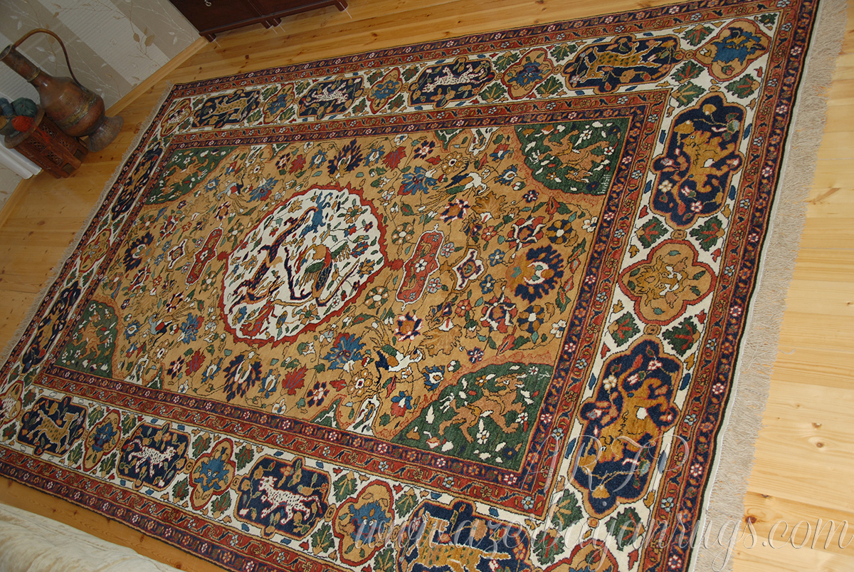 Reconstruction Of The Historical Safavid Kashan Rug