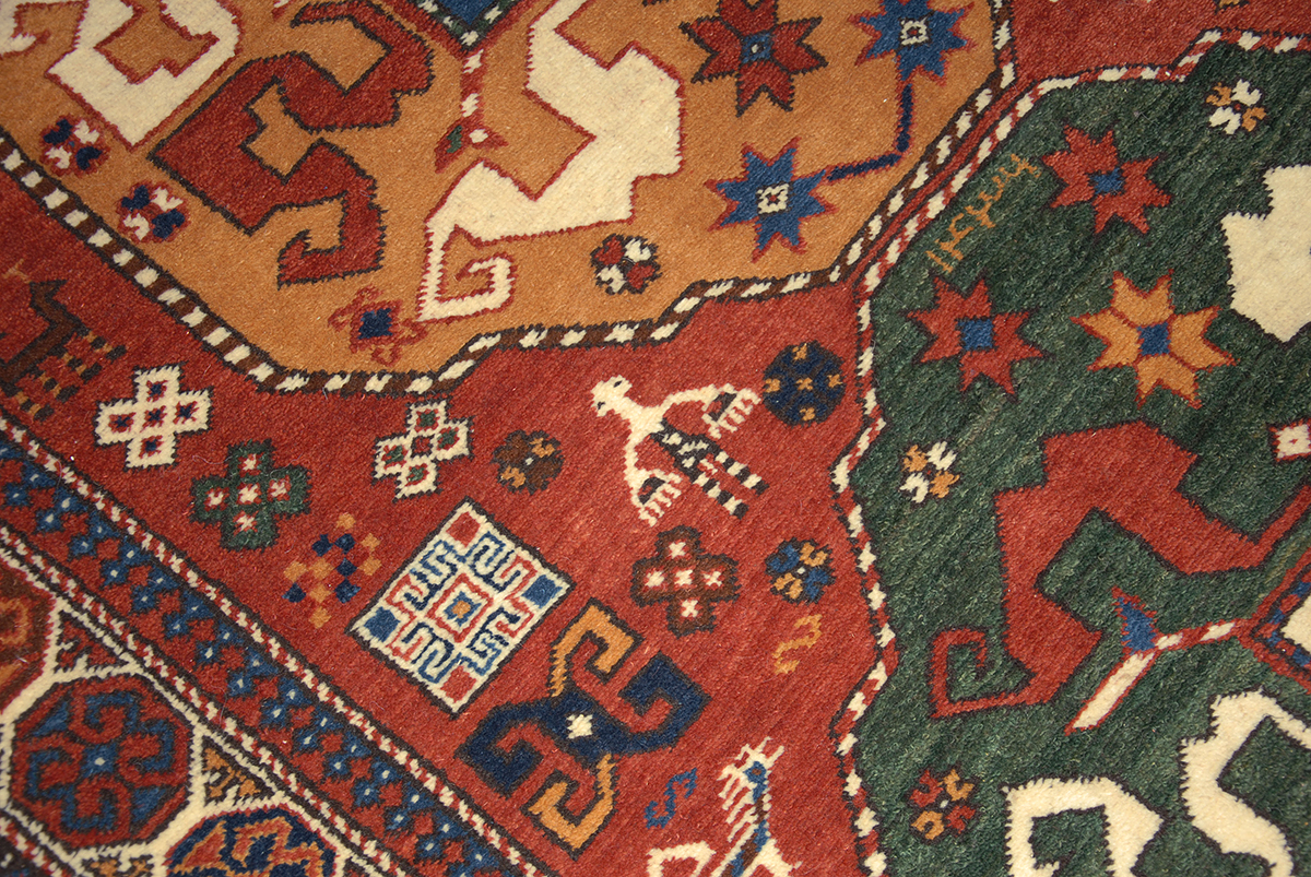 Karabagh Cloudband Motif Rug Antique Rugs Of The Future