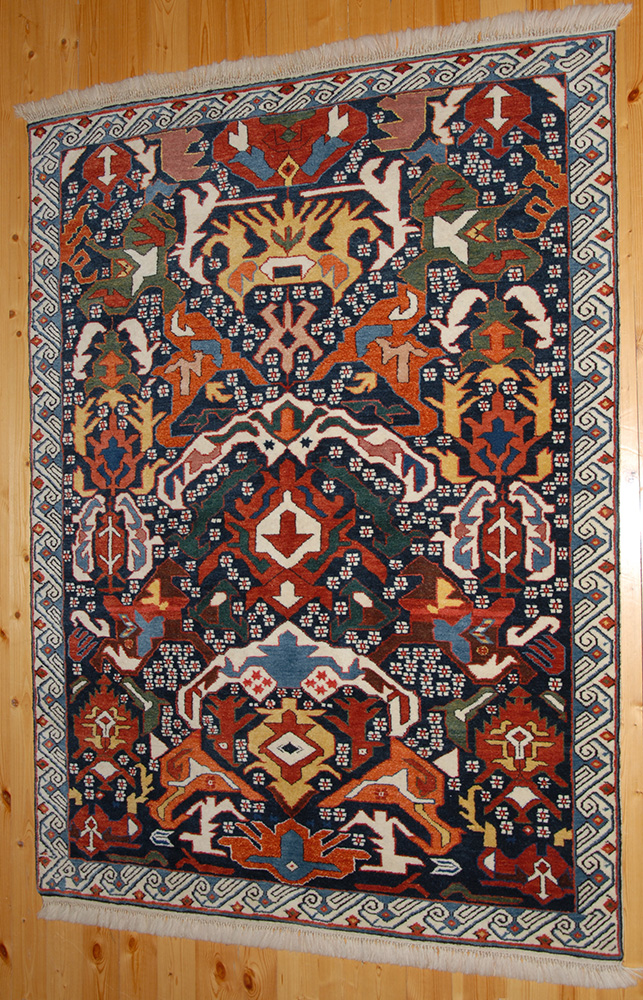 Kuba Seuchour Carpet Wool On Wool Natural Dyes
