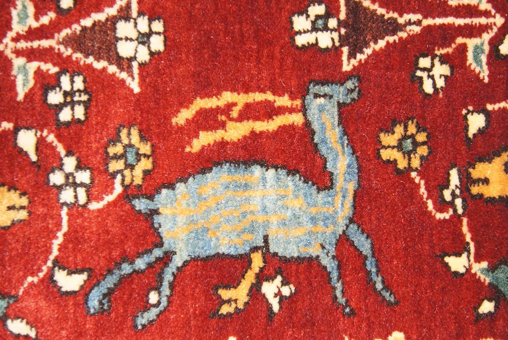 Safavid Hunting Scene Rug