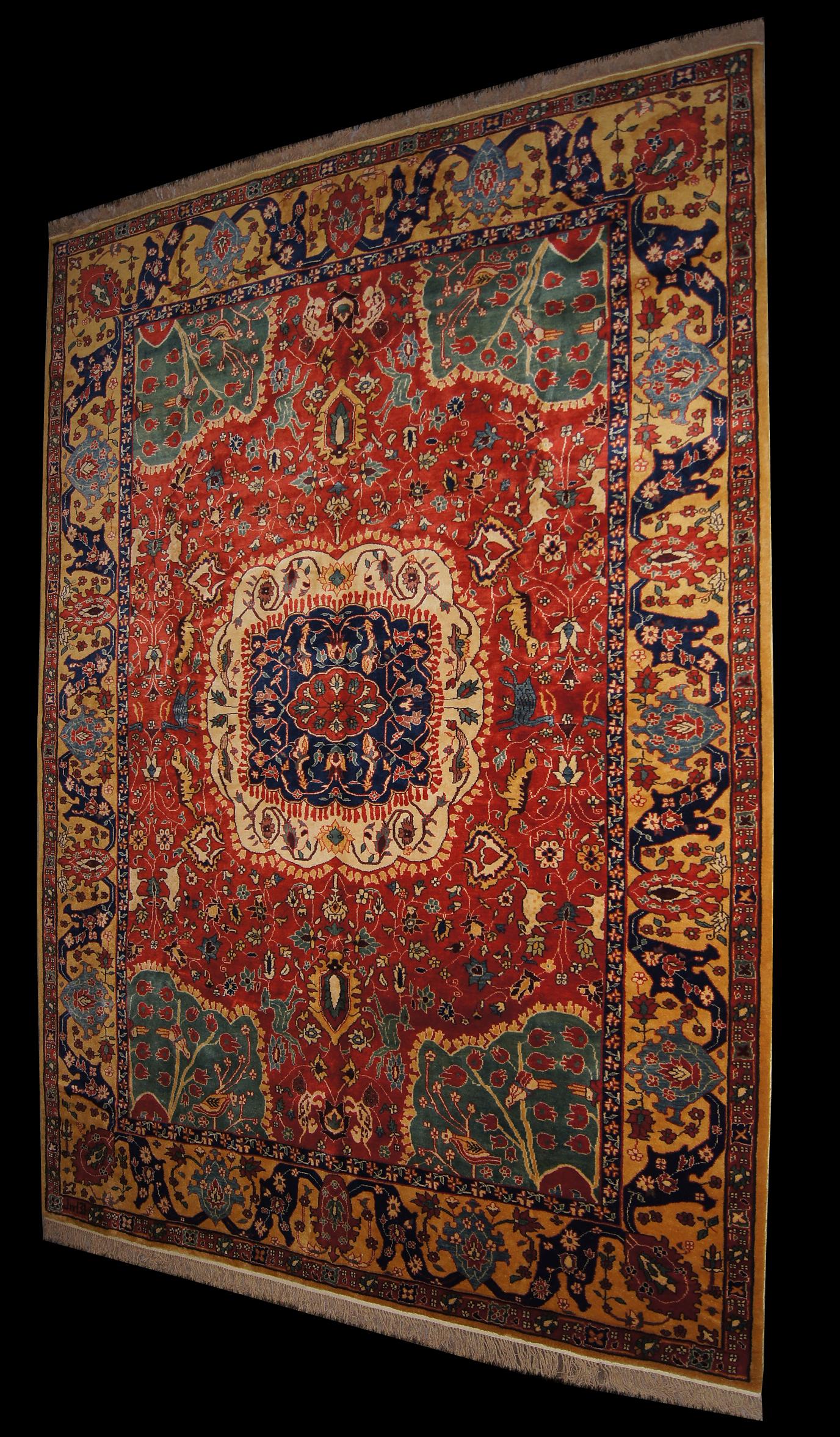 A Museum Quality Classic Safavid Rug