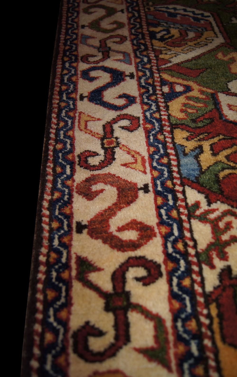 Victoria And Albert Museum Caucasian Dragon Rug