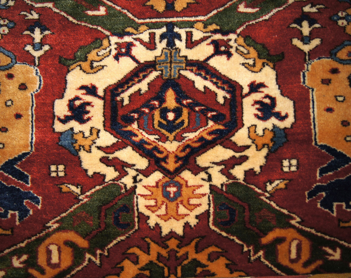 Victoria And Albert Museum Caucasian Dragon Rug