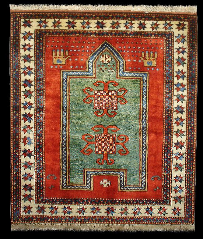 Borchalou Prayer Rug, Borjalou Prayer Rug, Caucasian