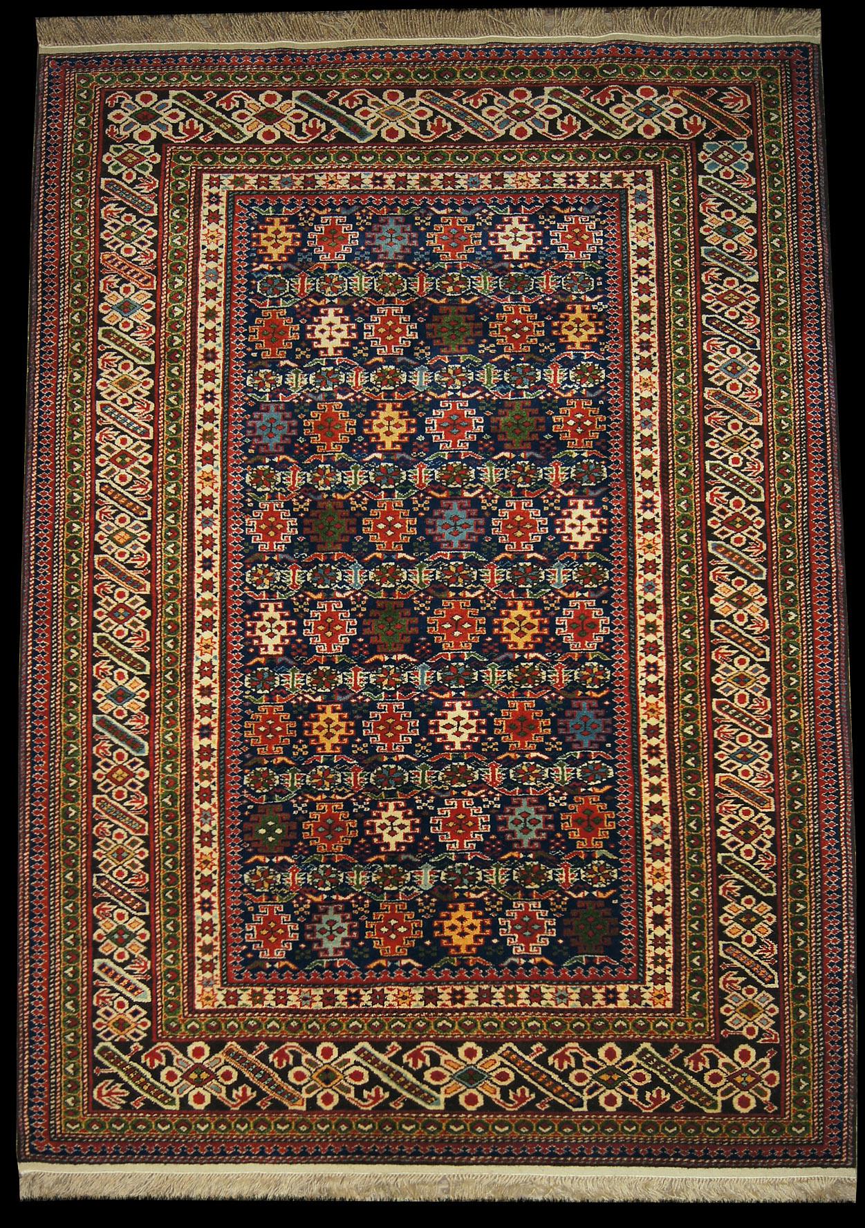 Kaukasische Teppiche Chichi Teppich Aserbaidschan