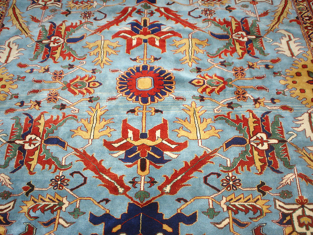A Serapi Rug 100 Natural Dyes Handspun Wool Azerbaijan