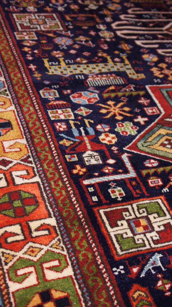 Akstafa Bird Rug Caucasian Shirvan Akstafa Bird Carpet