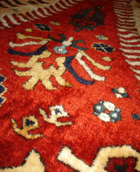 A Dragon Rug Caucasian Shirvan Dragon Rug Antique Rugs