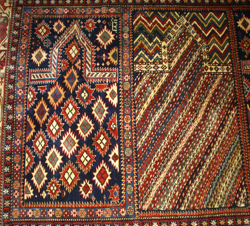 Shirvan Saph Saf Prayer Rug