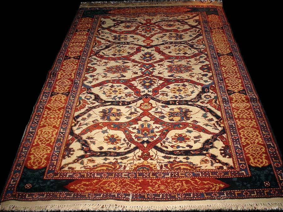 Antique Rugs Of The Future Project Tabriz Khatai Rug