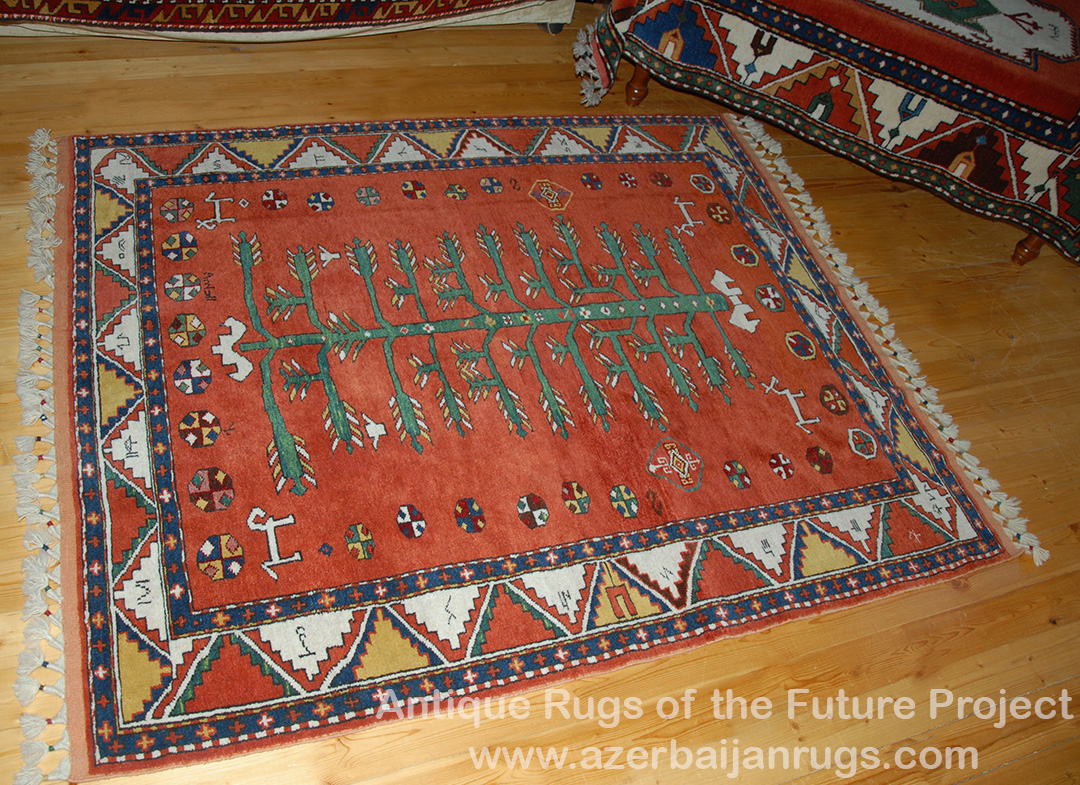 Borchaly So Called Bordjalou Rug With A Tree Of Life Motif