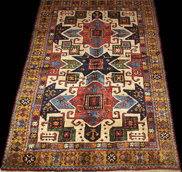 Antique Caucasian Star Kazak Rugs