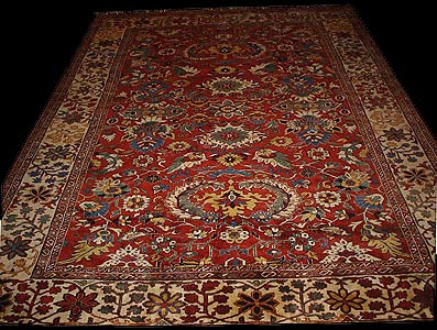 Click To Enlarge · Click To Enlarge. Tabriz Khatai Rug