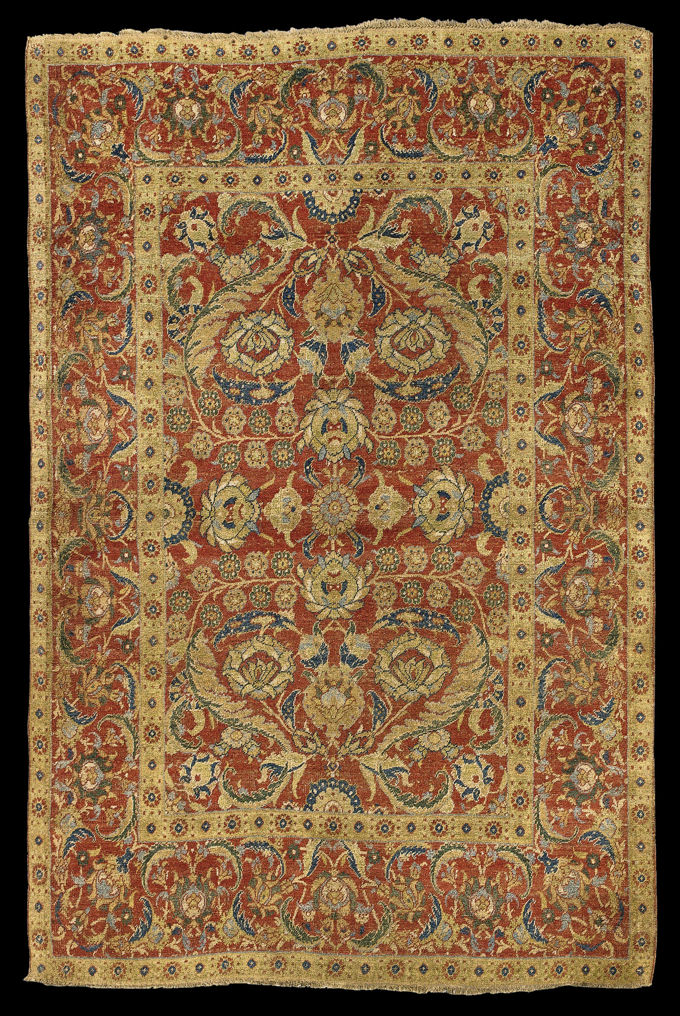 carpet ottoman. carpet ottoman i