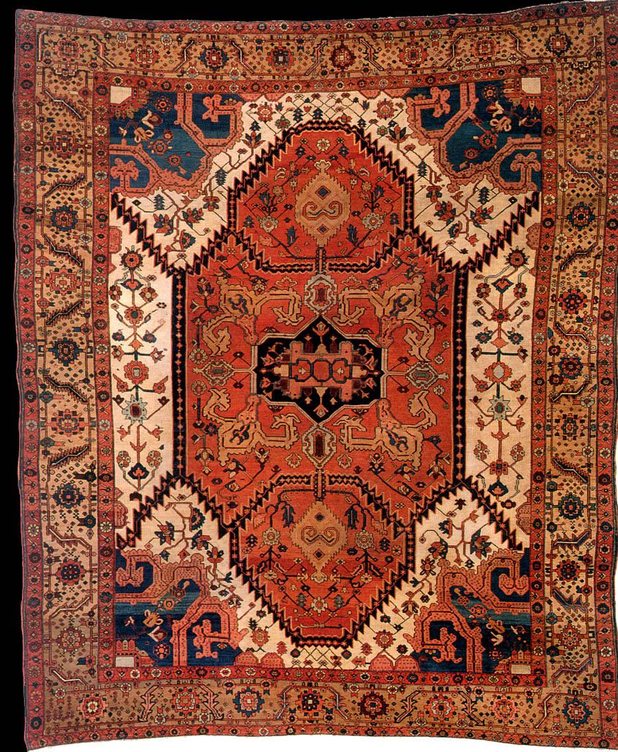Azerbaijan Rugs Illustrational Guide Bakhshayesh Rug