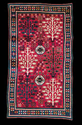 Antique Caucasian Tree Kazak Rugs