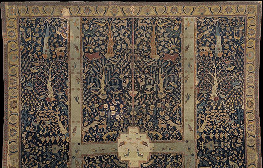 Sir William Burrell Wagner Quot Garden Quot Rug Isfahan Kirman