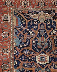 6897 Lot 89 A Heriz Carpet North West Persia Circa 1880 Price Realized 40 120 Christies Oriental Rugs And Carpets 29 April 2004 London
