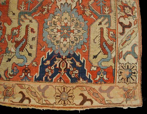 Early Karabagh Or Kuba Dragon Carpet 17th Century James