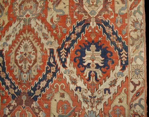 Early Karabagh Or Kuba Dragon Carpet 17th Century James