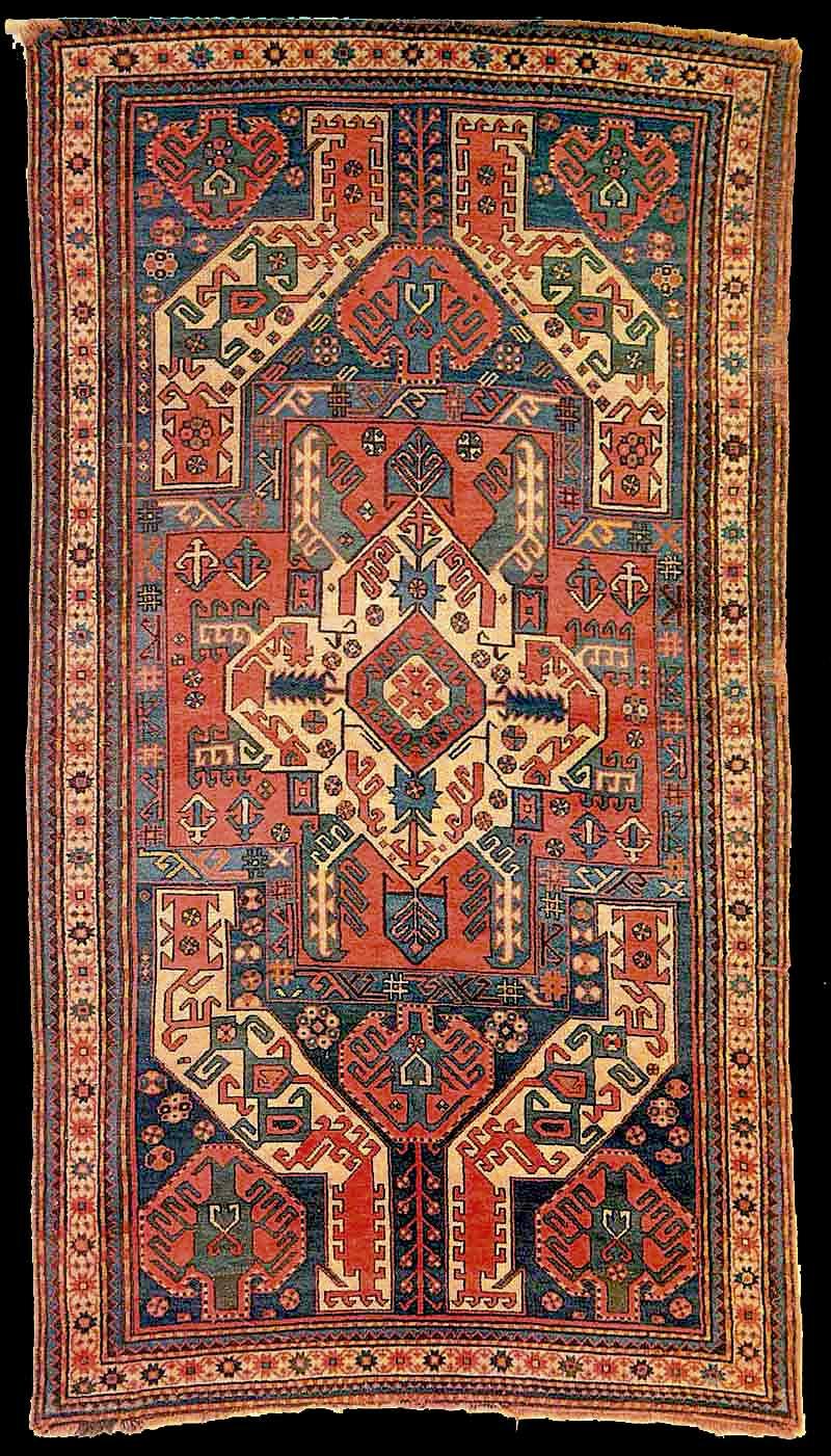 Antik Karabach Kasim Ushak Teppich