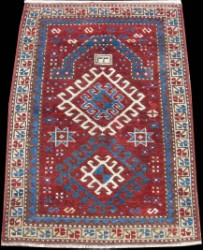 Antique Kazak Prayer Rugs Namazlyg Rugs