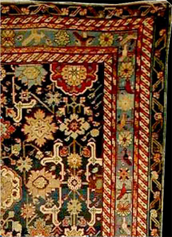 Carpets Rugs On Tuesday 9th October 2001 Condition Overall Wear Heavy In Places End Outer Guards Rewoven One Split Other Small Repairs