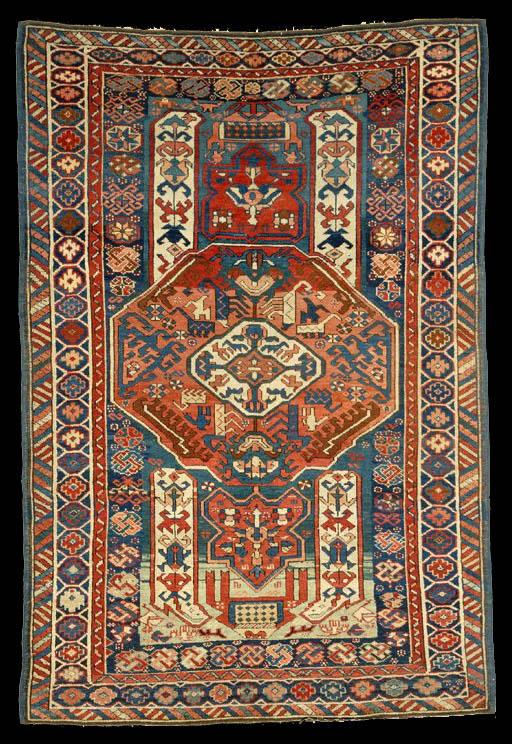 Antique Fine Kuba Rug Antique Caucasian Kuba Carpet