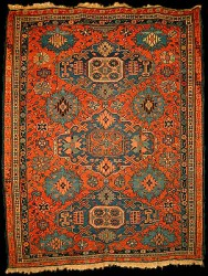Click To Enlarge Antique Kuba Soumak Rug