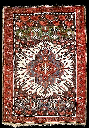 Antique Caucasian Kuba Zejwa carpet, second half 19th ...