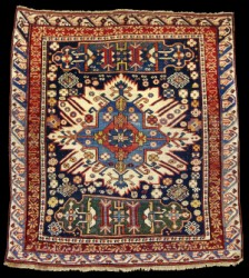 Antique Caucasian Kuba Sunburst Zejwa Rugs And Carpets