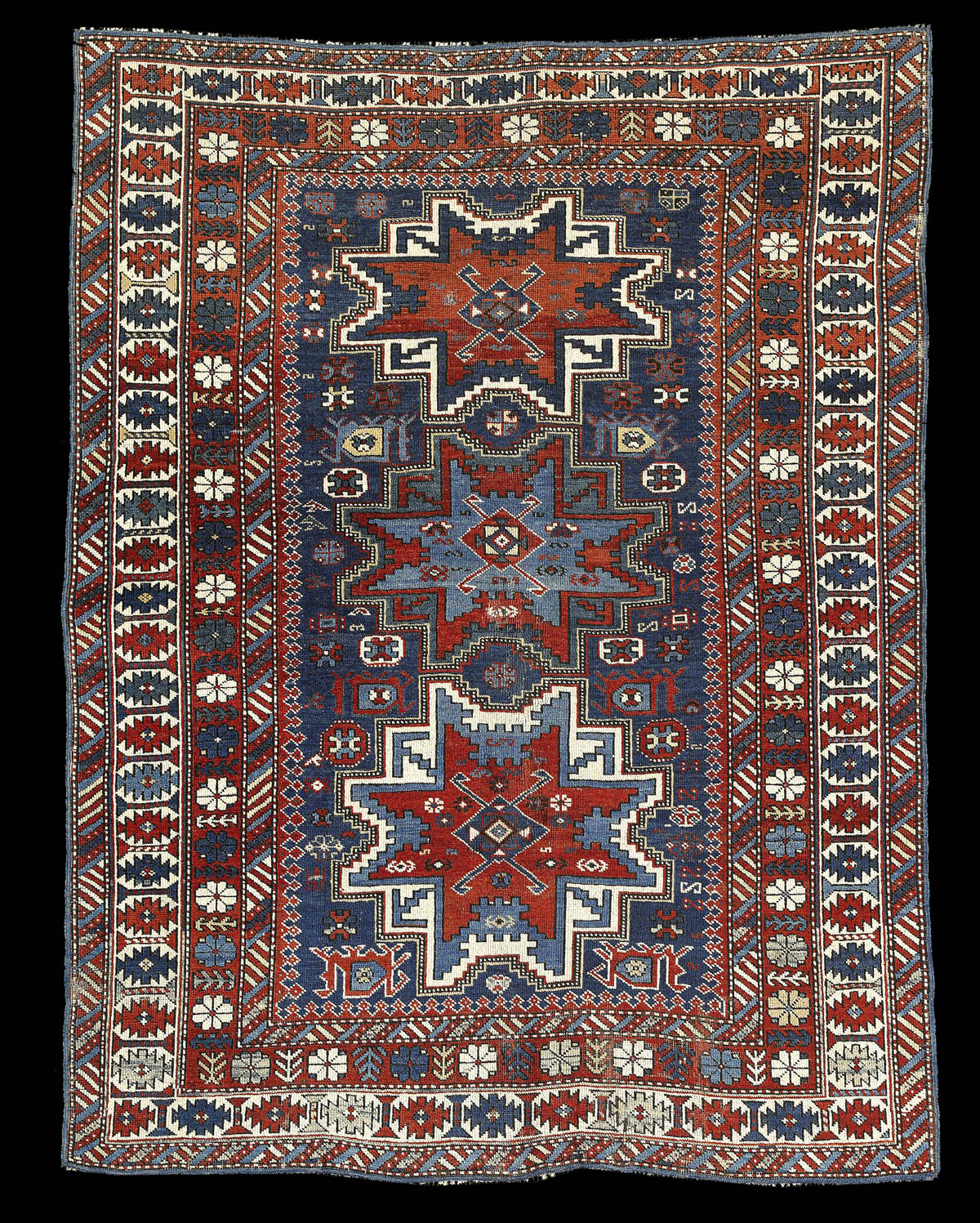 Antique Kuba rug, Azerbaijan rugs and carpets
