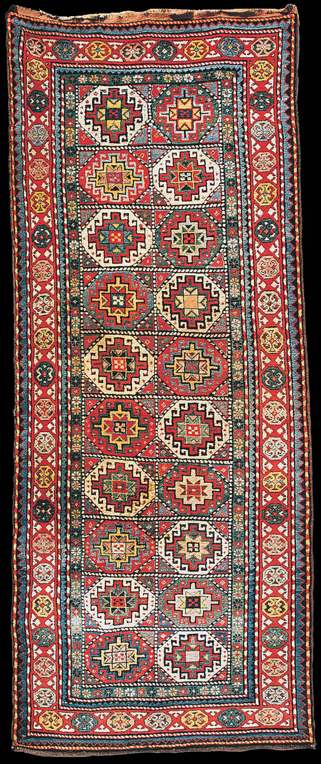 Antique Moghan Long Rug 19th Century The State Museum Of