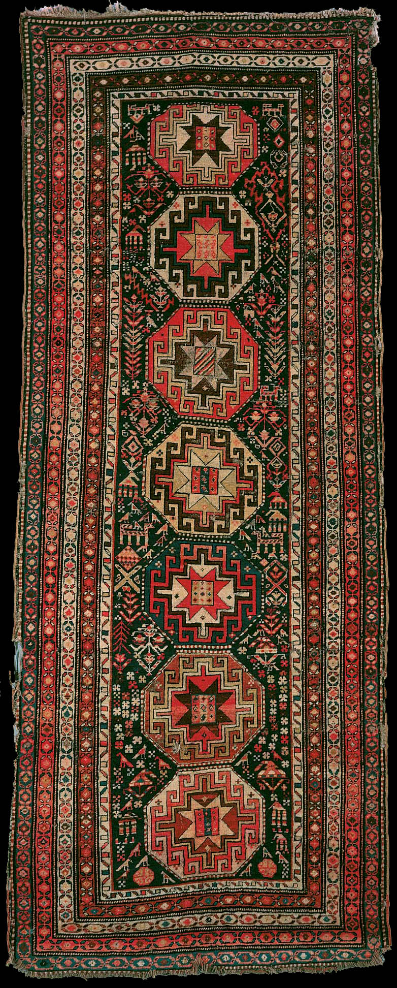 Back Rug A Moghan Long Rug 20th Century The State Museum