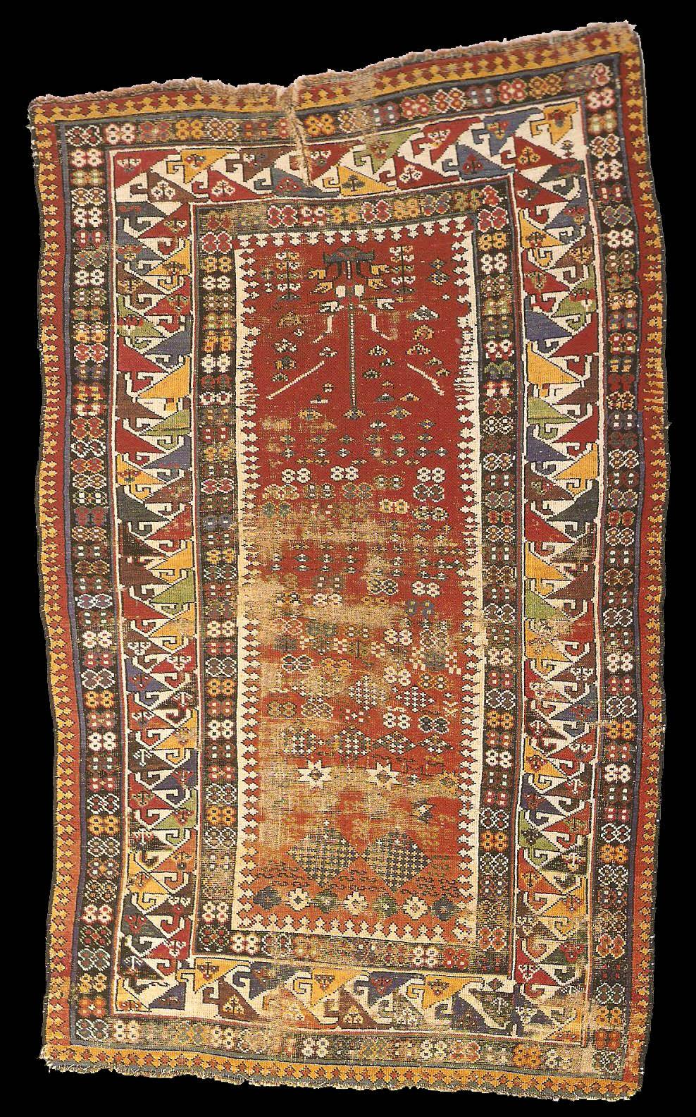 Dixon Collection Antique Shirvan Or Moghan Prayer Rug