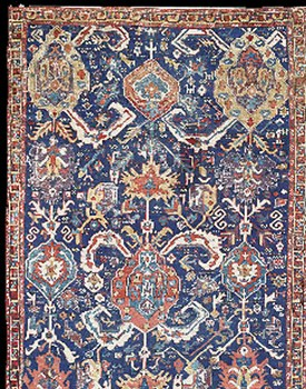 Early Azerbaijan Rug With A Stylized Dragon Design Nw Iran North West Persian Carpet Late 18th Century 40 326 Christie S 7429 Oriental Rugs
