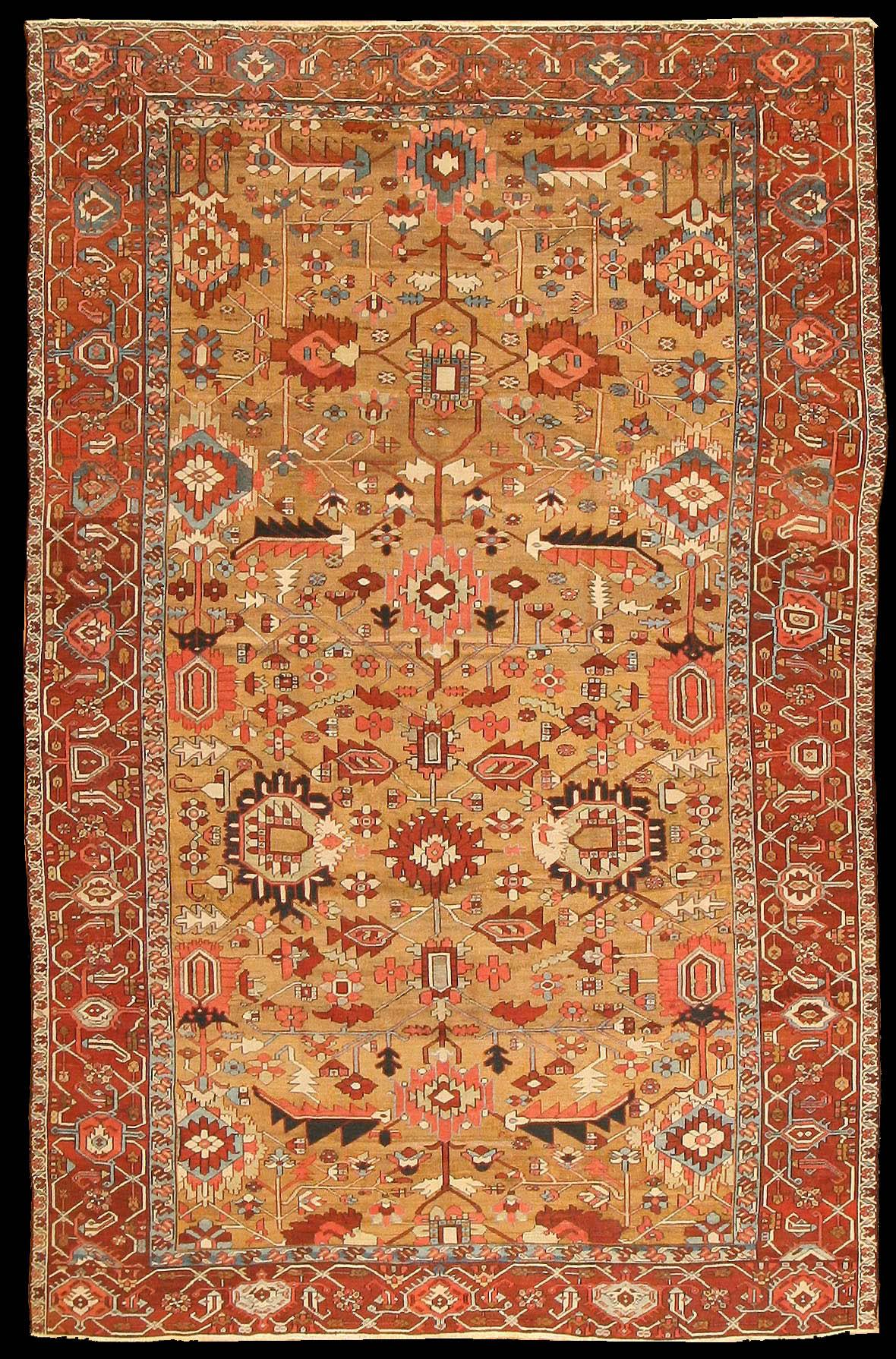 Serapi Carpet Antique Serapi Carpet