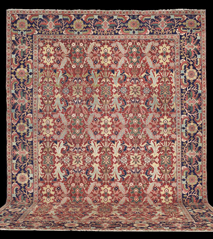 Antique Serapi Rug Azerbaijan Nw Iran 19th Century 12