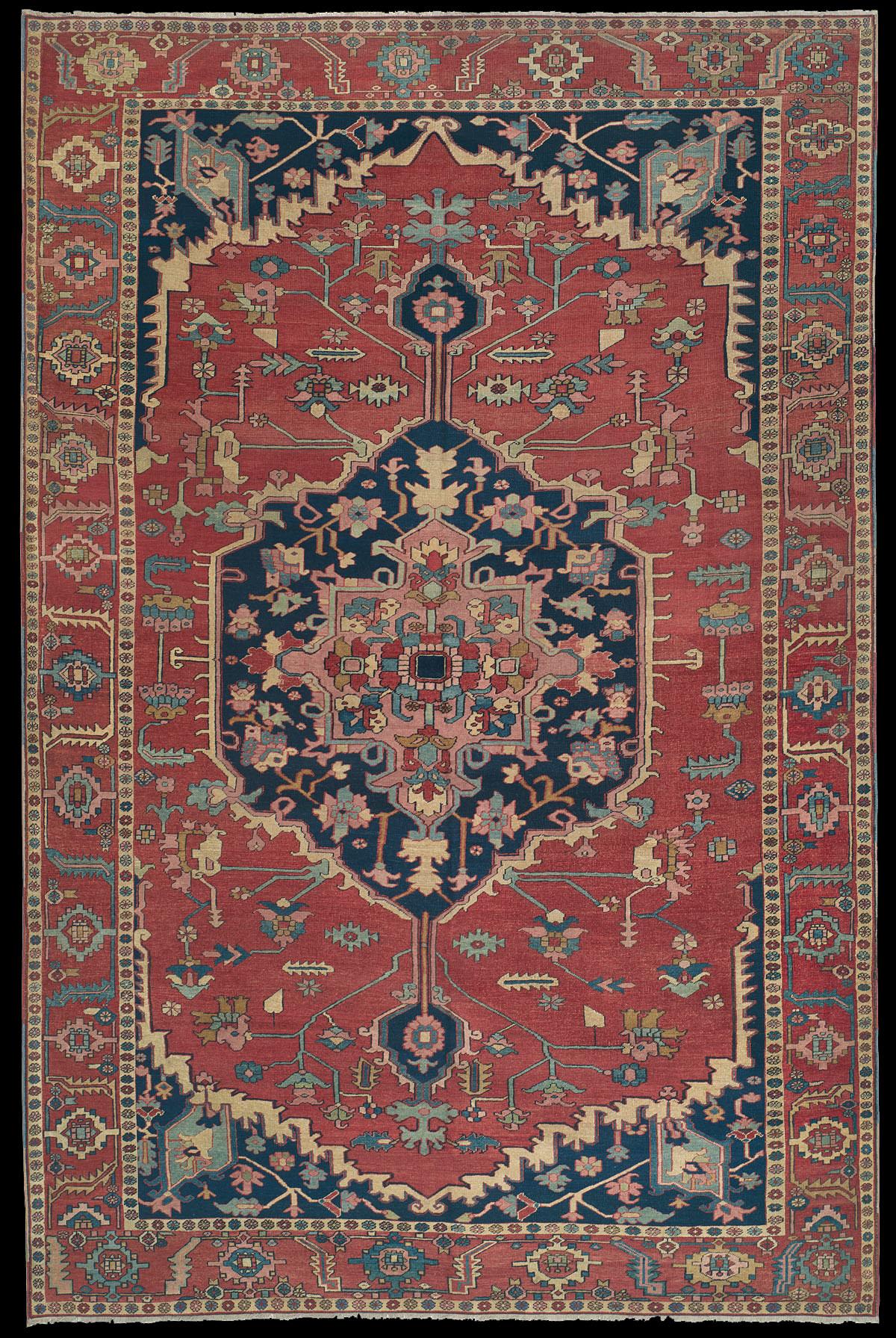 Antique Serapi Rug Azerbaijan Nw Iran 19th Century 9 39 1