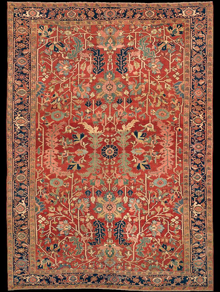 Antique Serapi Rug Azerbaijan Nw Iran 19th Century 8 39 4